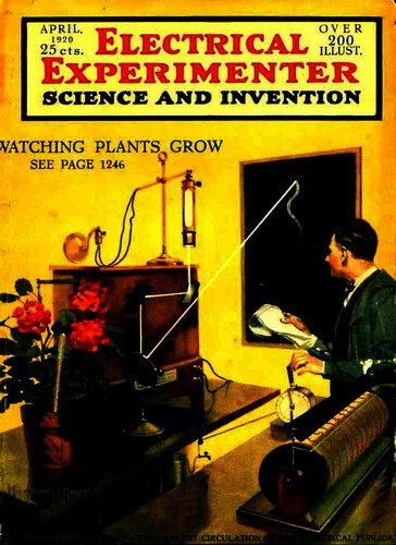 Electrical Experimenter: 1920 April - - Book Cover