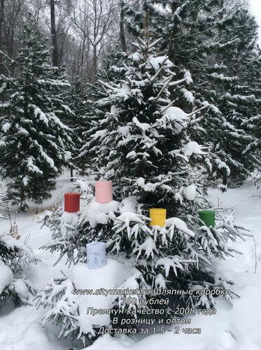 Шляпные коробки для цветов и подарков