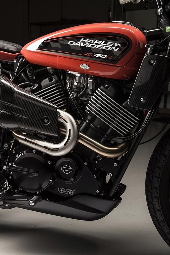 Гоночный флэт-трекер Harley-Davidson XG750R 2017