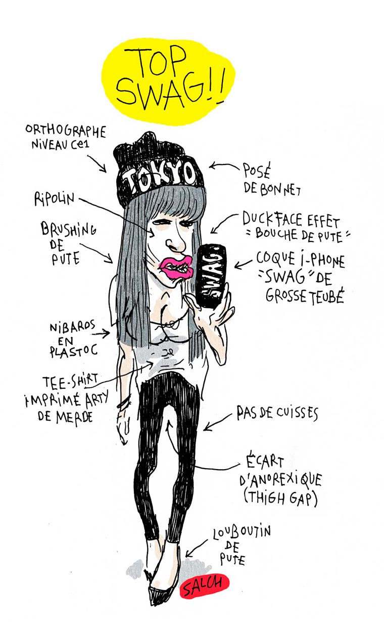 Lookbook de Merde - This trashy tumblr analyses all our shitiest styles
