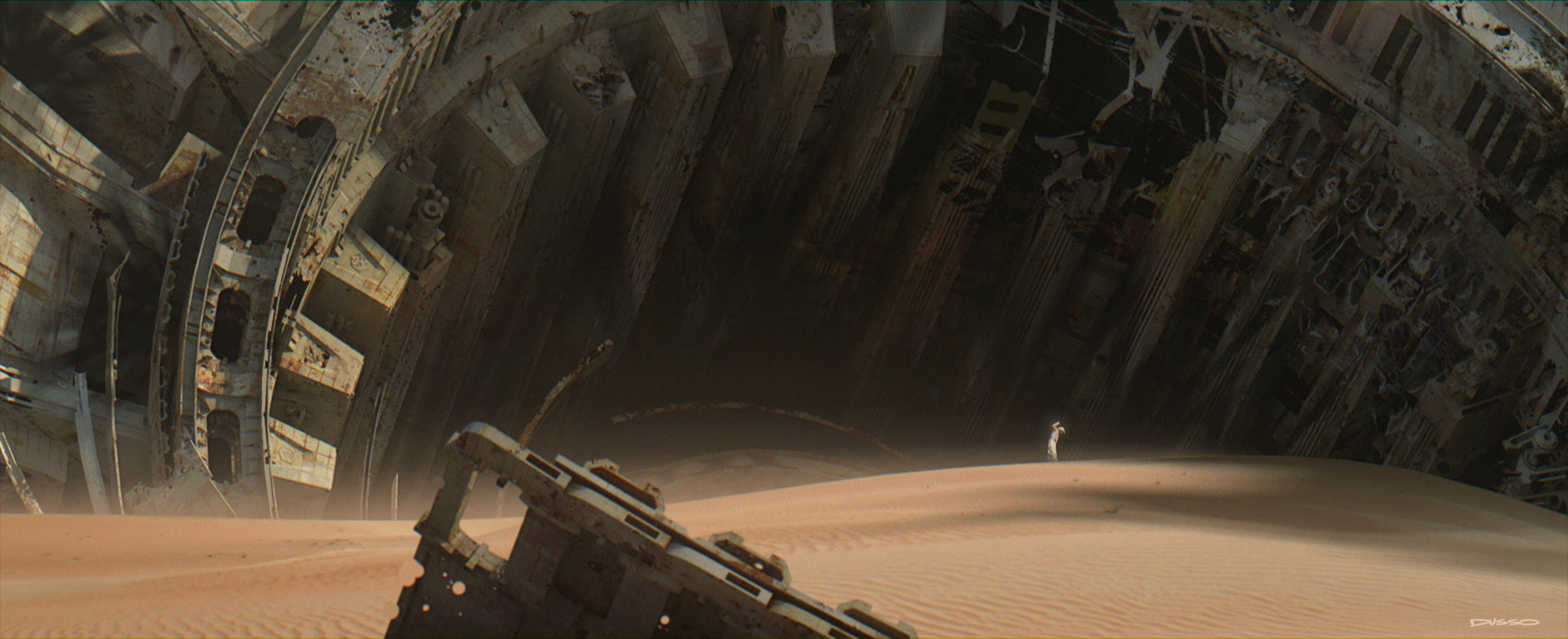 Star Wars: The Force Awakens Concept Art by Industrial Light & Magic