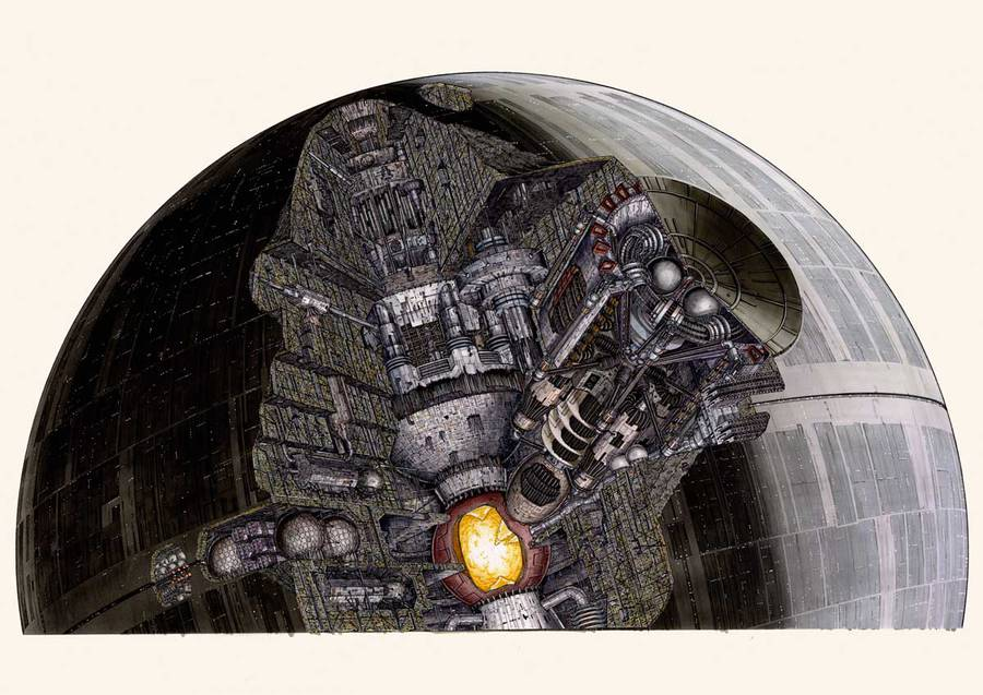 Star Wars Ultra-Detailed Illustrations