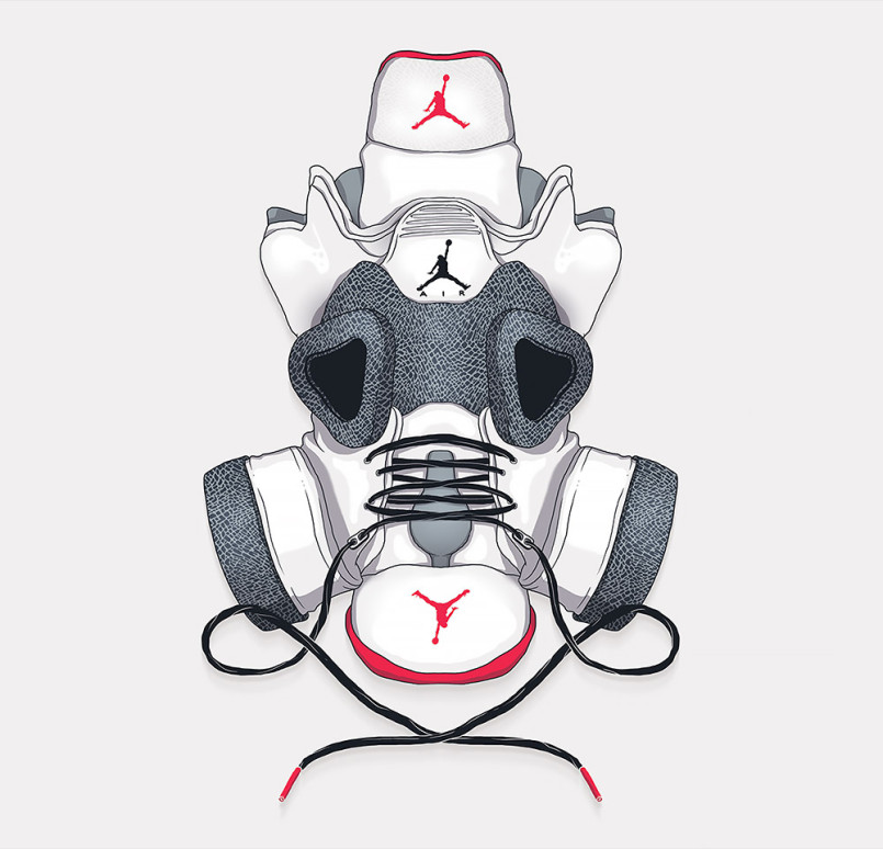 The Sneaker Mask Show: Illustrations by Totoi