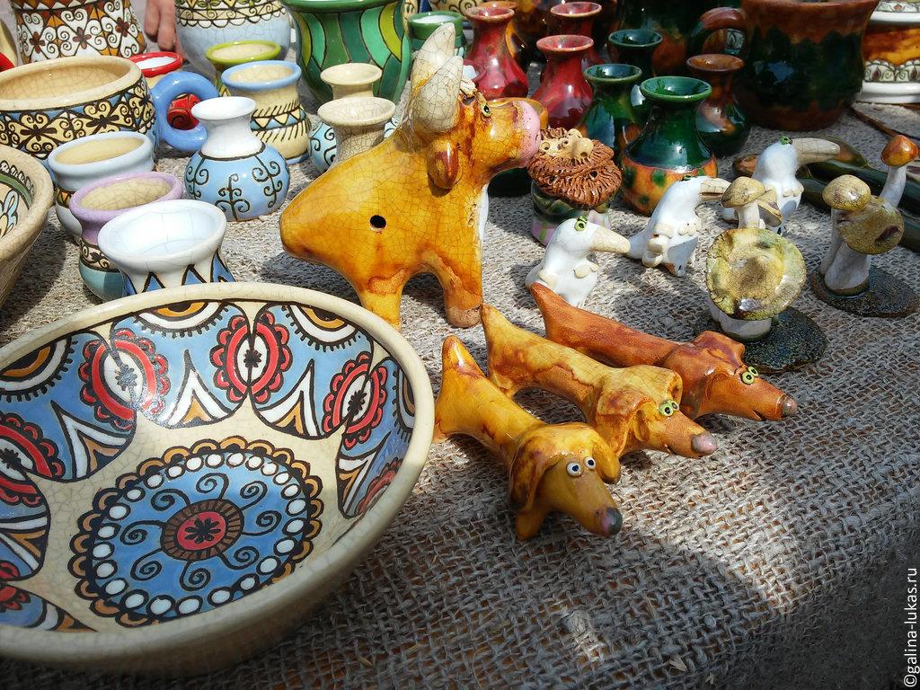 Сувениры из керамики в Скопине