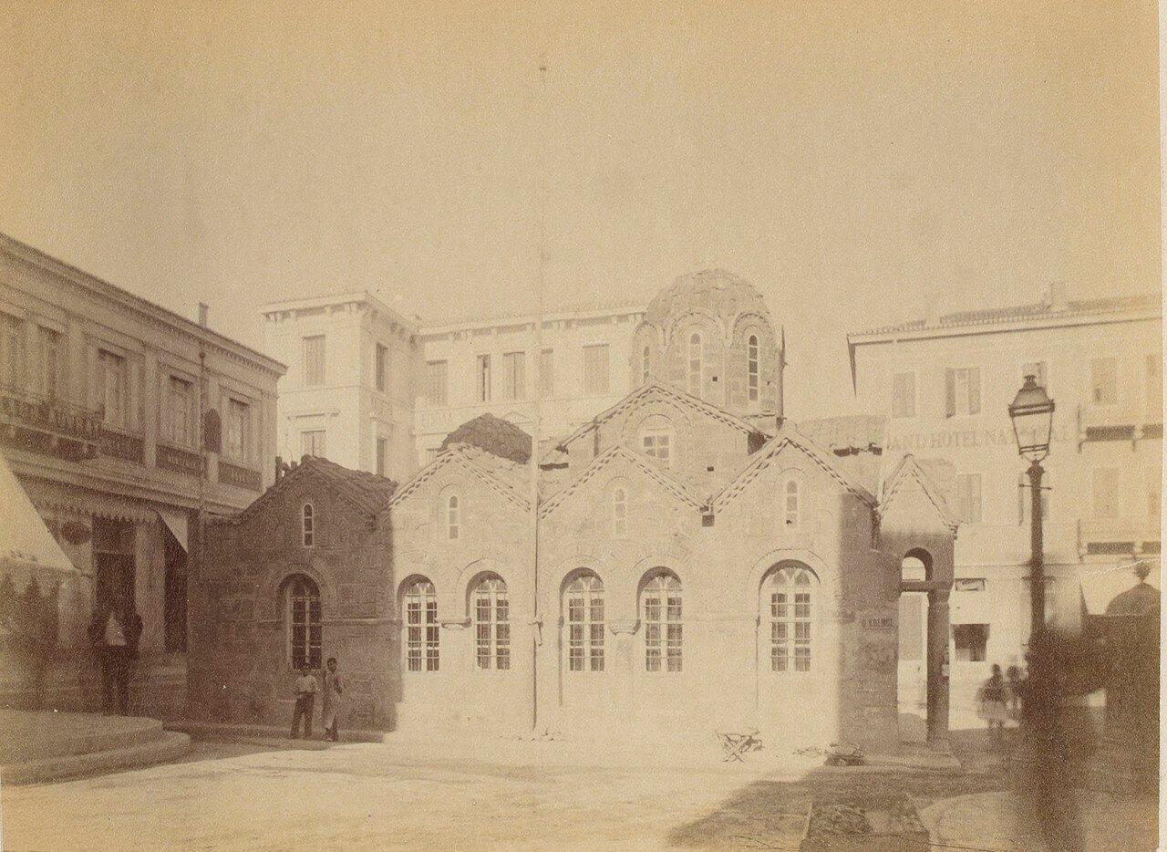 111. Афины. Византийская церковь