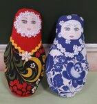 "Кулешова Анастасия (рук. Гапон Инна Николаевна.) - Мягкая игрушка ""Мы милашки - куклы неваляшки"""
