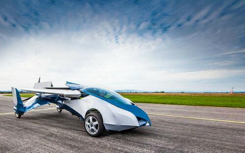 Озвучена цена первого в мире летающего автомобиля