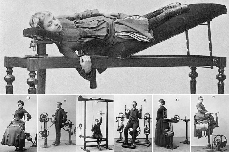 Amazing pictures from the first gyms