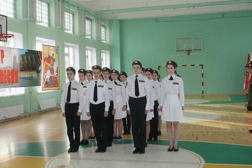 8б - Ивановское - Районный смотр строя и песни