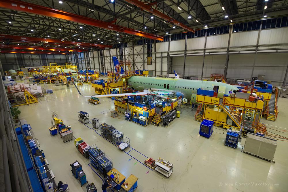 Airbus: как собирают самолёты