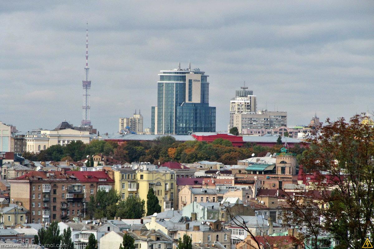 Панорами з Київської фортеці