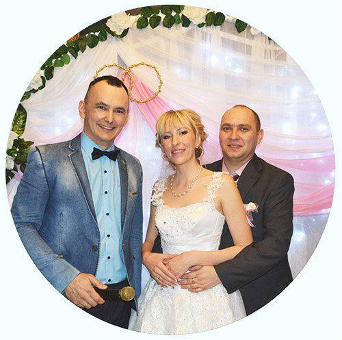 Ведущий на свадьбу,тамада в Волгограде - Павел Июльский. Проведение свадебного торжества Андрея и Анастасии