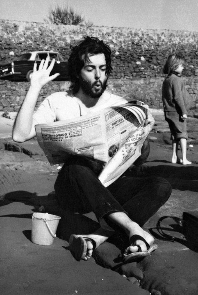 Пол Маккартни, 1968 год.
