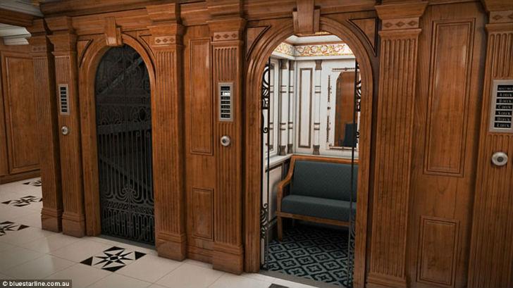 Лифты будут просторные и даже с софой.