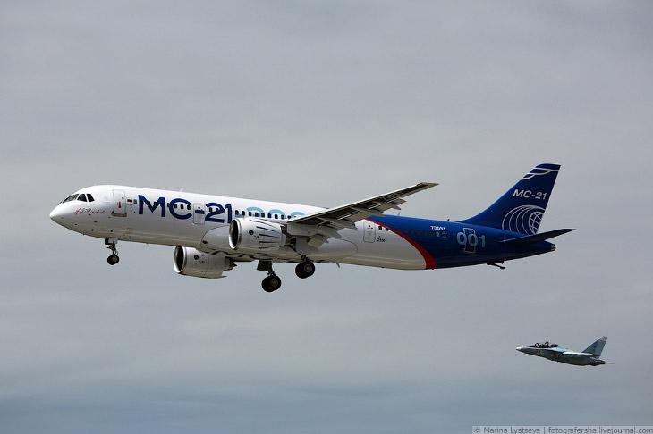 Новый самолет МС-21 (39 фото)