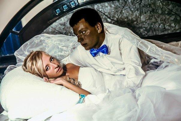 Неудачный креатив свадебных фотографов