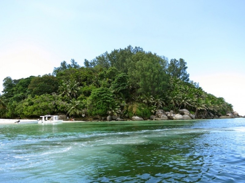 Мужчина бросил все и уехал на собственный необитаемый остров (9 фото)
