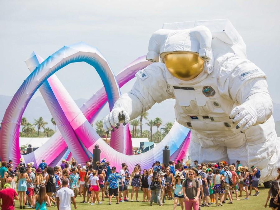 9. Не меньшей популярностью, чем и все остальные фестивали, пользуется трехдневный фестиваль в Индио
