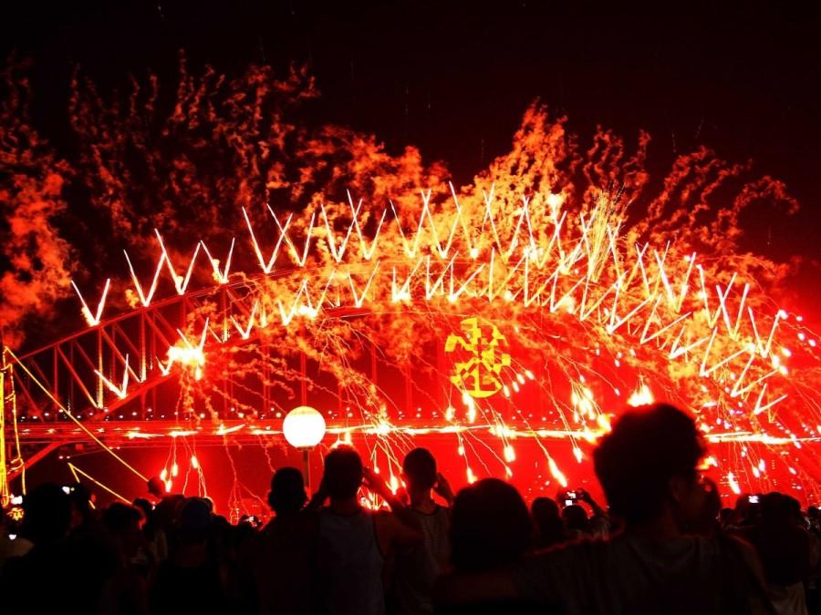 28. В Сиднее, Австралия, проходит второе в мире по масштабности новогоднее мероприятие под названием