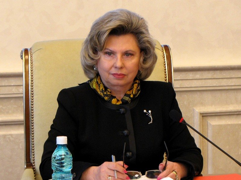 Омбудсмен Татьяна Москалькова высадила репортера изавтомобиля впроцессе интервью
