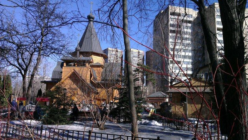 Храм Святителя Николая Мирликийского у Соломенной Сторожки