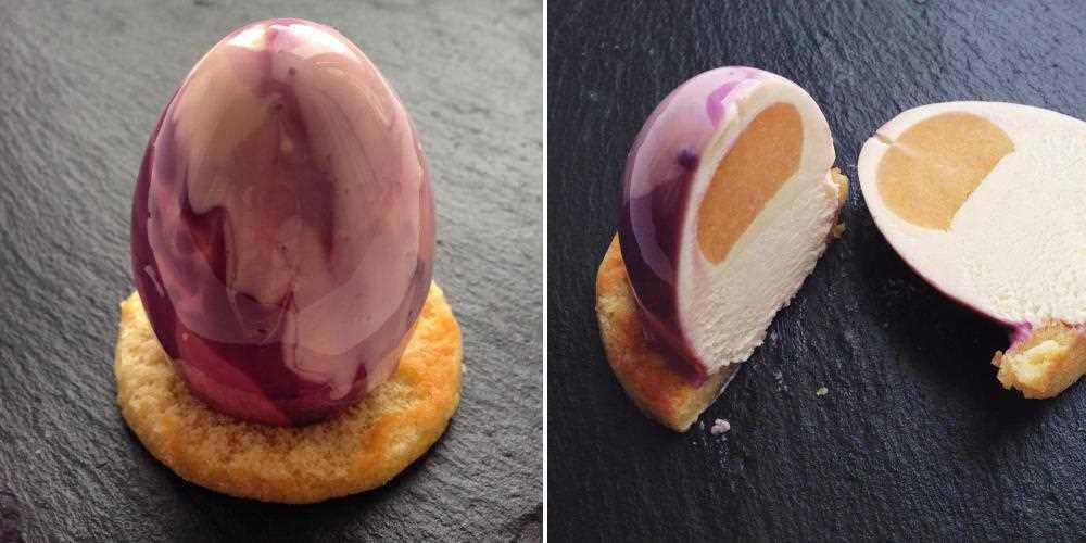 мраморно-зеркальные десерты Ольги Носковой