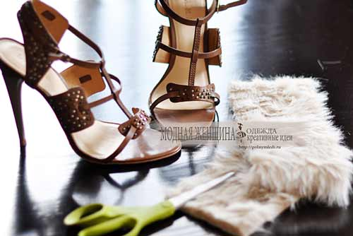 Идеи из обуви