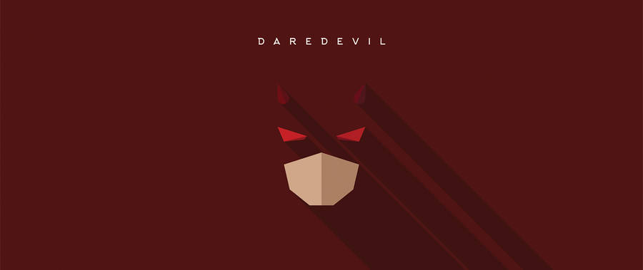 Minimalist Masks of Superheroes