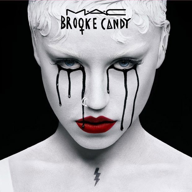 Brooke Candy for MAC Cosmetics Spring Summer 2016 (2 pics)