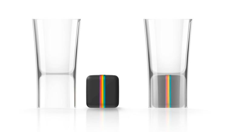 Polaroid launched shot glasses to capture your alcoholic parties