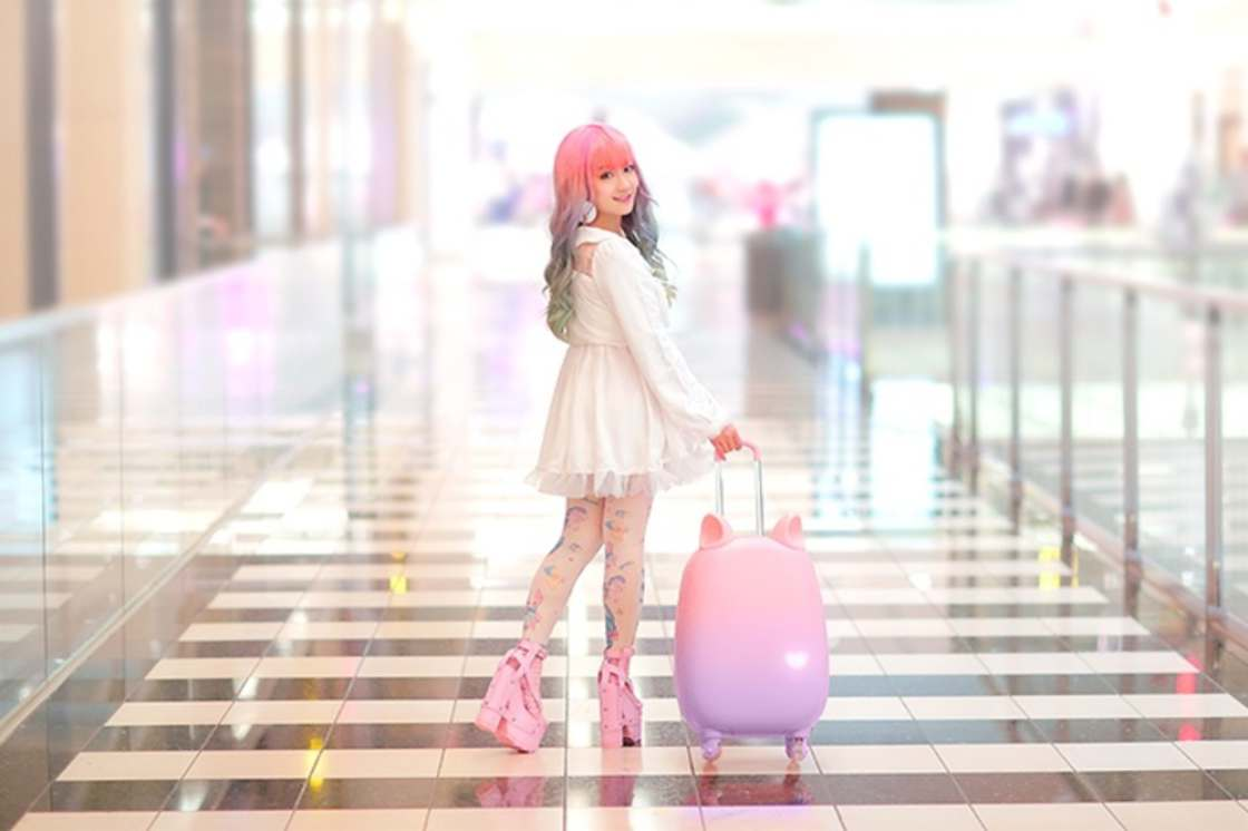 Cat Suitcase – The most adorable suitcase has mobile cat ears (10 pics)
