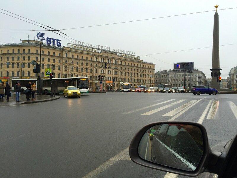 Отличный день в хмуром и туманном Святом Петербурге