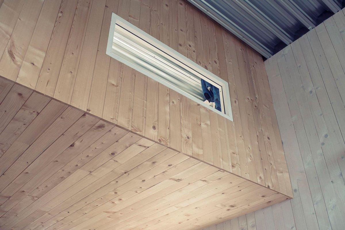 обшивка стен деревом в частном доме