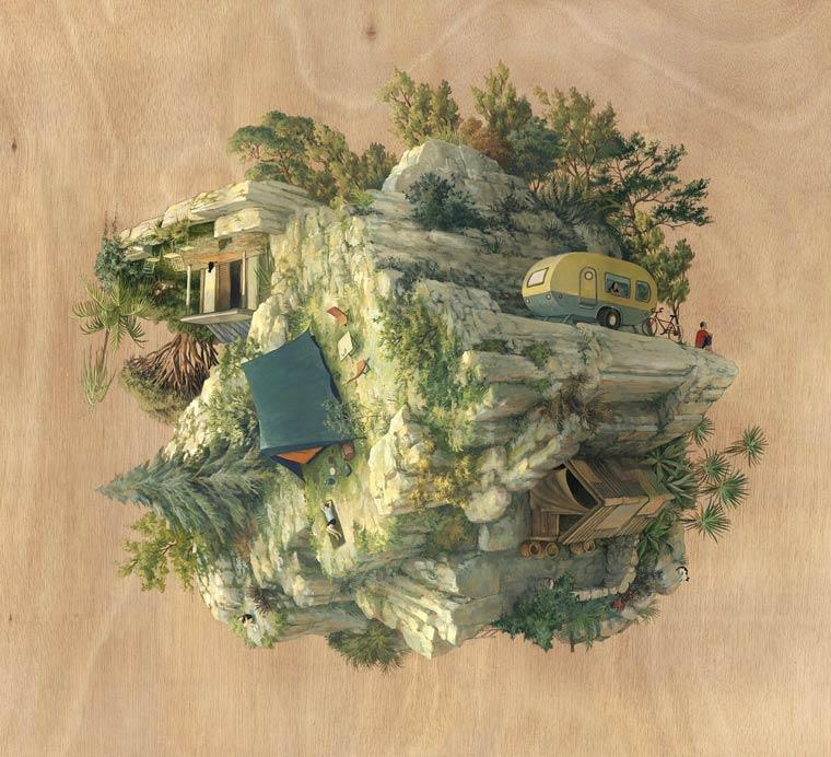 Escher Worlds - Les etranges architectures surrealistes de Cinta Vidal