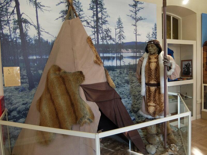 Иркутск - Музей истории города - Из истории коренных народов