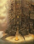 jacek_yerka_the fantastic art_new age manhattan.jpg