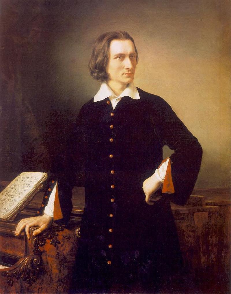 портрет композитора Ференца Листа