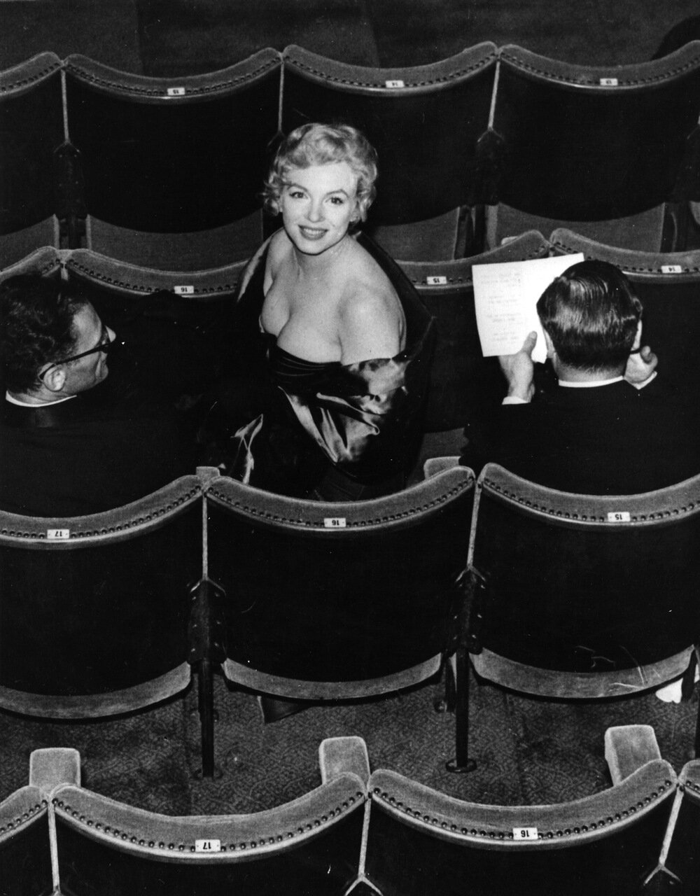 Marilyn In Audience