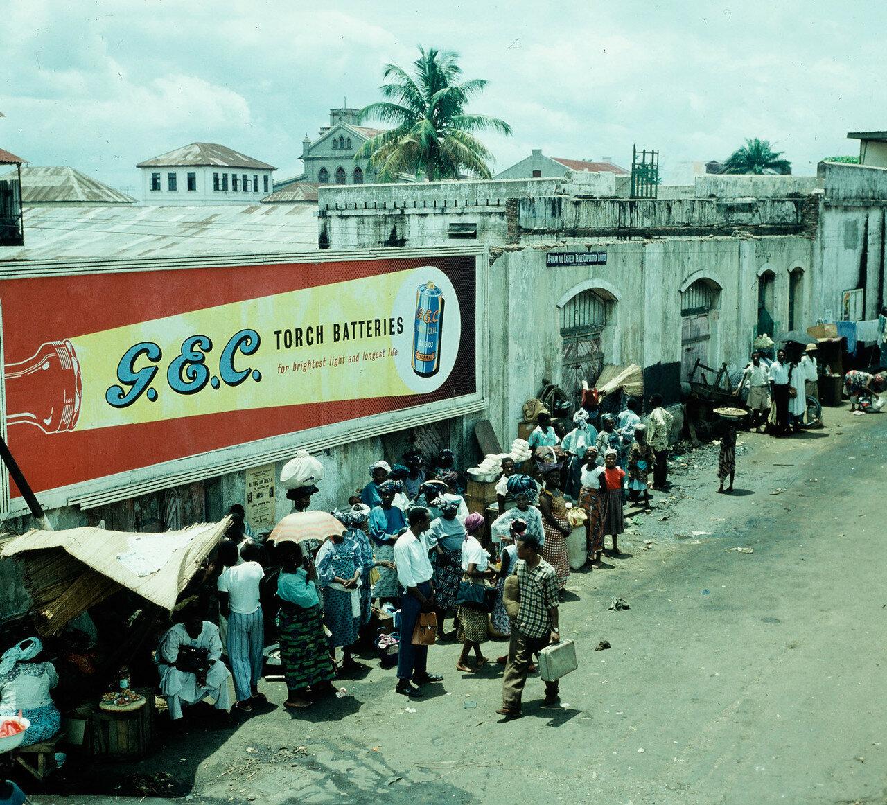 Лагос, Нигерия. Рынок