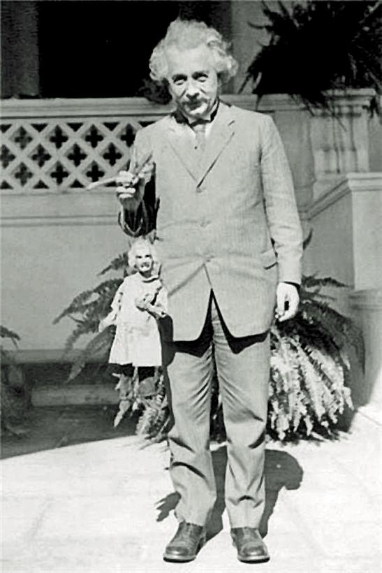 Альберт Эйнштейн и... Альберт Эйнштейн
