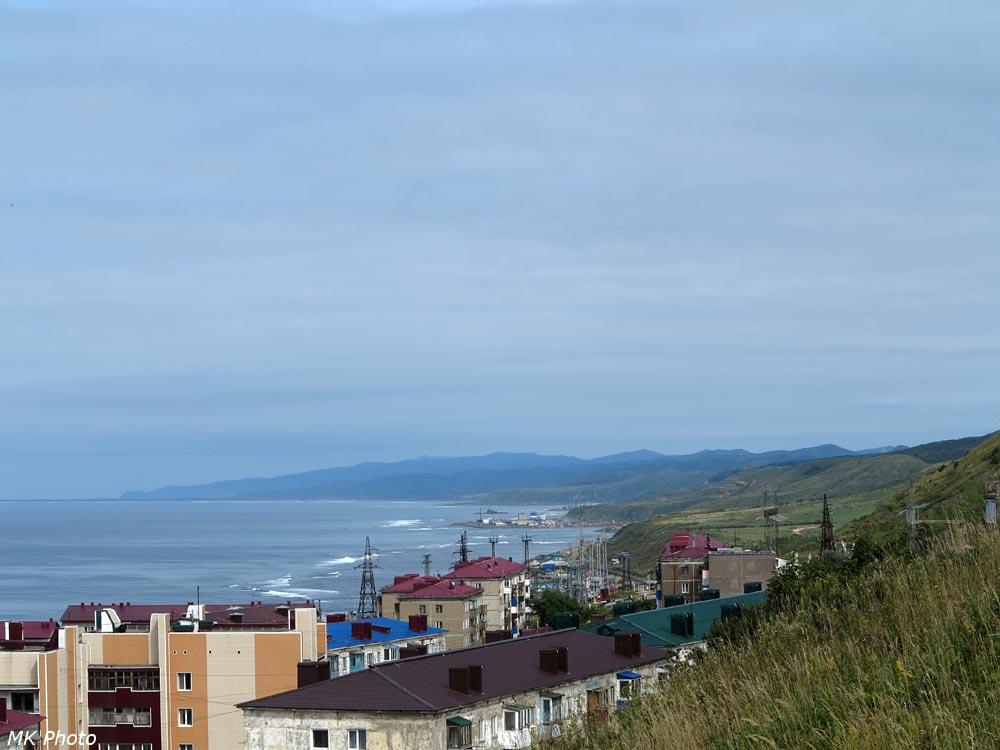 Вид вдоль побережья на север