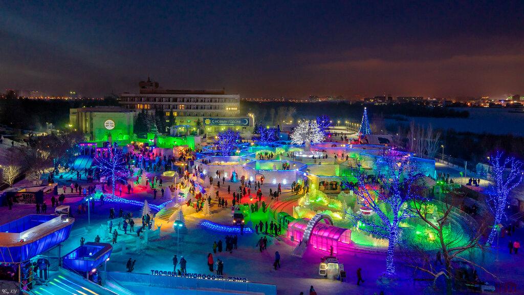 Самый красивый новогодний объект города в 2016г. (мой выбор;-)