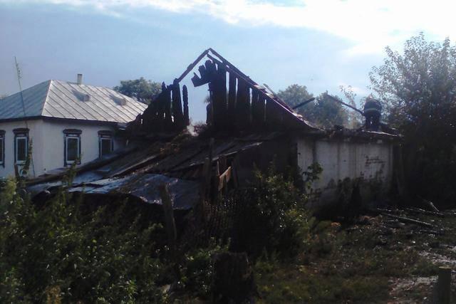 В результате пожара на Черниговщине погиб 4-летний мальчик, - ГосЧС. ФОТО