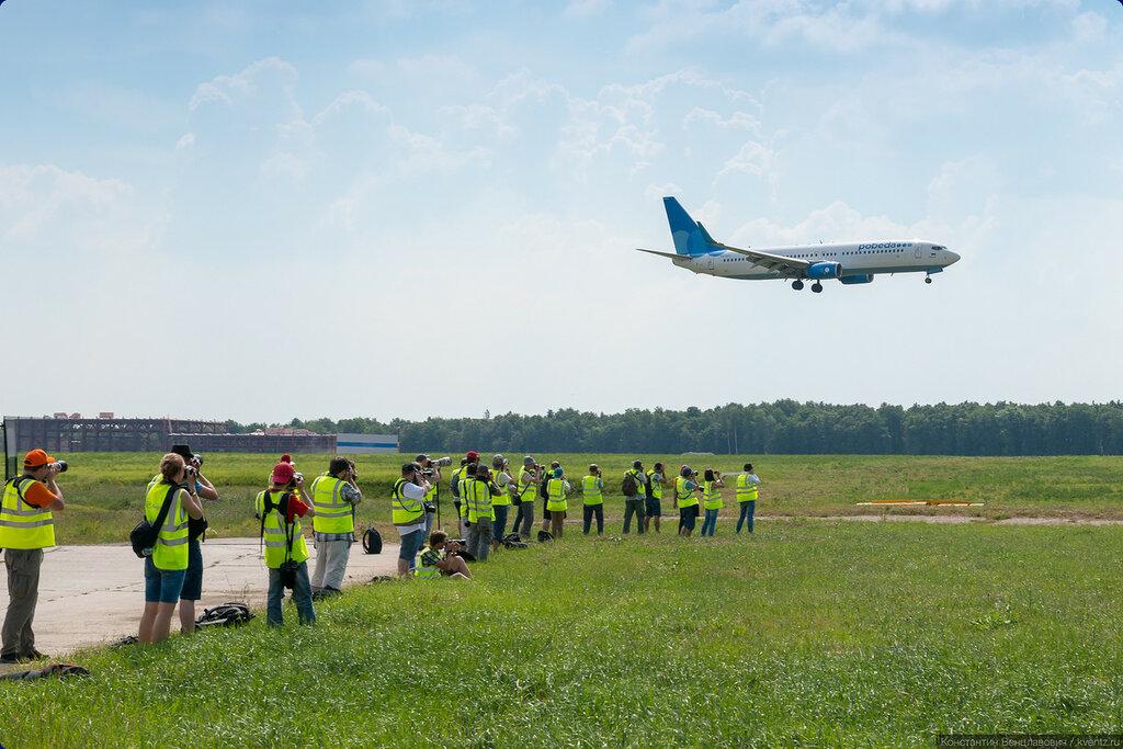 На второй точке у VIP-ЗОЛД второй год подряд снимаем посадки