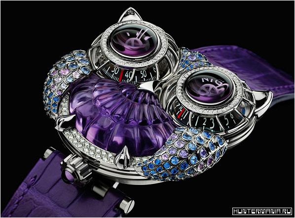 Эксклюзивные дизайнерские часы и украшения MB&F и Boucheron