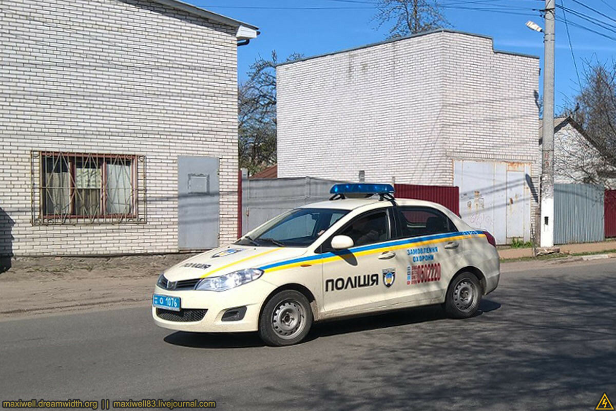ZAZ Forza Поліція