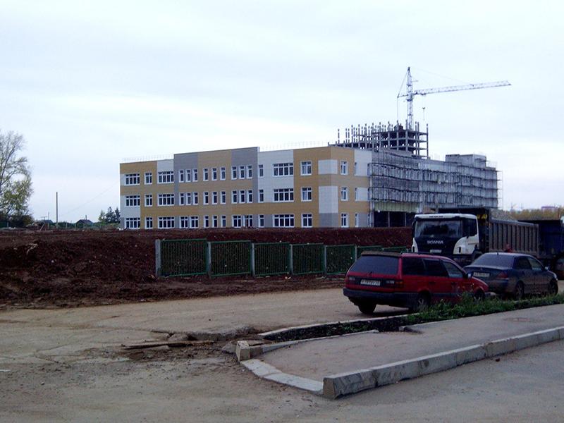 Строительство школы в «Зиновых» подходит к концу