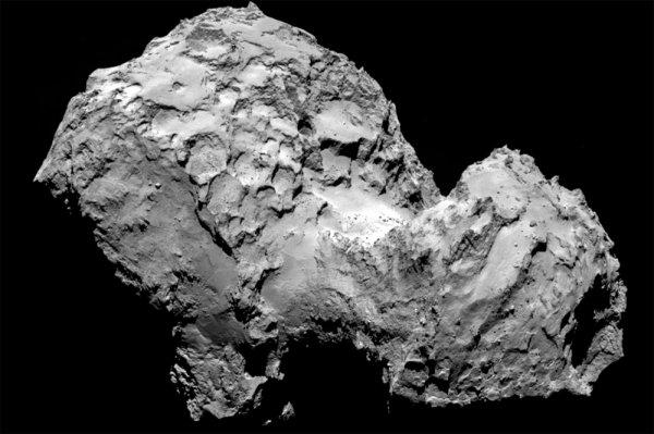 «Розетта» благодаря пыли скометы приоткрыла тайны рождения планет
