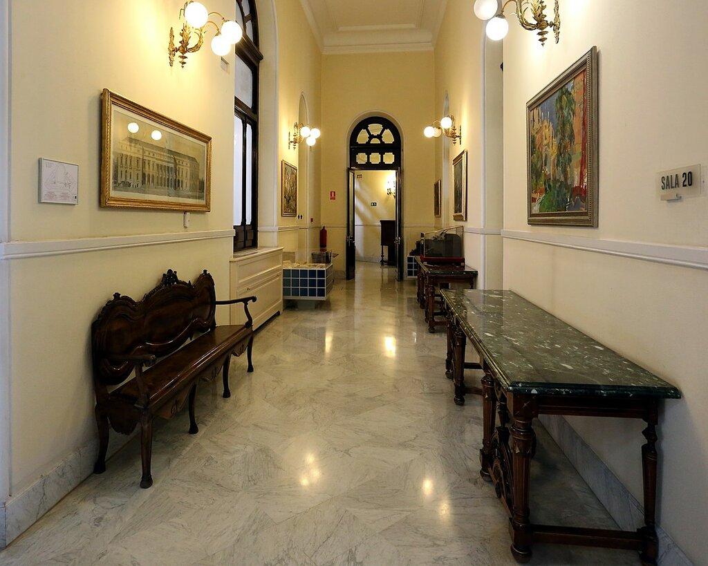 Madrid Stock Exchange Palace (Bolsa de Madrid), interiors