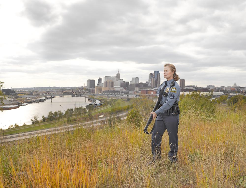 4. Анита Сент-Пол, Миннесота Glock .40 калибр, полицейская модель 11-81 (Lindsay McCrum)